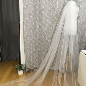NEW! Cathedral Length Veil, Never Used